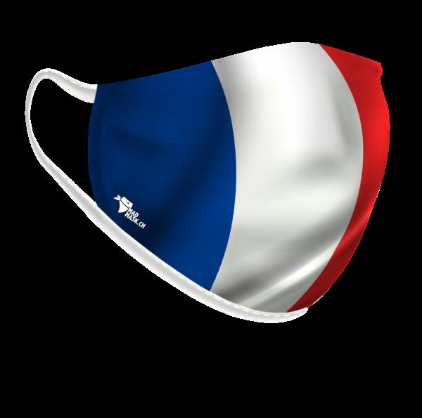 Máscara Bandeira Francesa