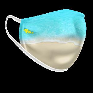 Máscara lavável Mar