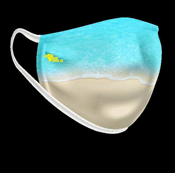 Masque lavable Mer