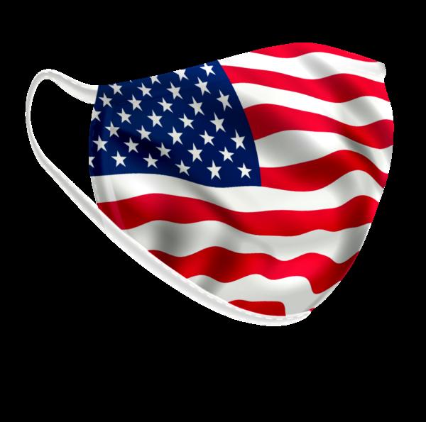 Máscara Bandeira Americana