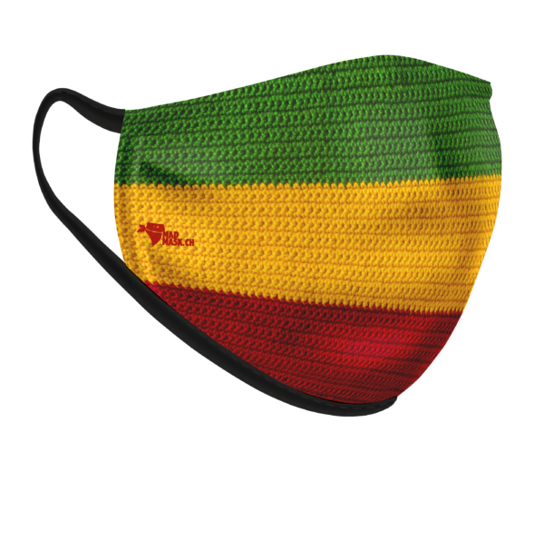 Masque Drapeau Africain