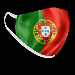 Máscara Bandeira Portuguesa